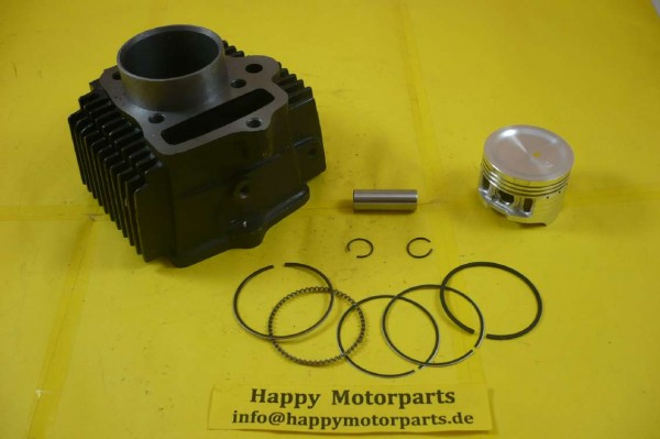 HMParts Atv / Quad / Dirt Bike Zylinder-Set - Loncin 125ccm - 52mm