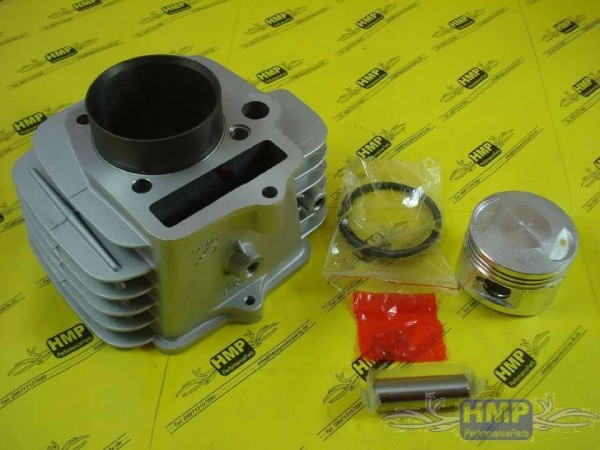 HMParts Pit Bike / Dirt Bike ALU-Zylinder Set 125 ccm - Lifan - Kb 14mm