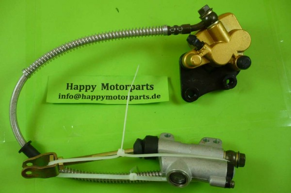 HMParts - Moto Cross Dirt Bike Pit Bike - Bremsen SET - 50 - 250 ccm - Typ31
