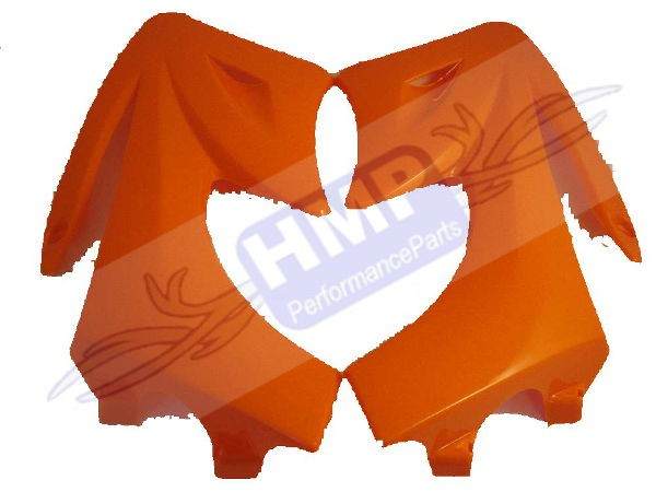 HMParts - Pit Bike Dirt Bike Seitenteile Typ 2 ORANGE