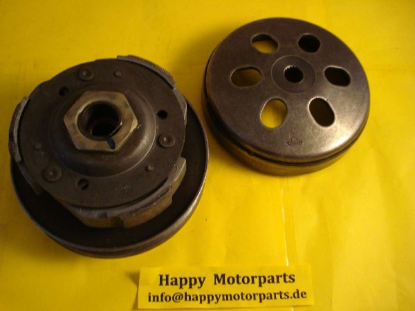HMParts Roller / Scooter / GY6 Kupplungs-Set 125-150 ccm