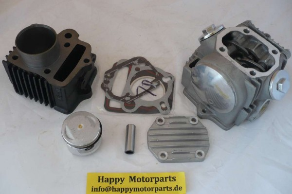 HMParts Dirt / Pit Bike / Monkey etc. Zylinder Tuning Upgrade Set Komplett 50 auf 70ccm