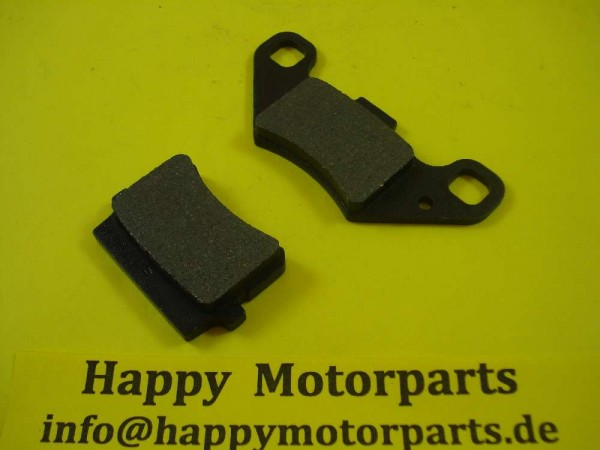 HMParts - ATV Quad Shineray - Bremsbeläge - XY250ST-9E - Typ21